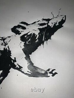 Banksy gross domestic product rat original gdp screen print