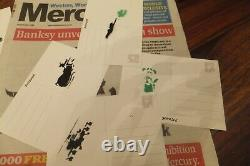 Banksy signed tenner note & Dismaland Programme+lots of dismal memorabilia Coll6