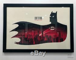 Batman Animated Series BTAS PCC Poster Mondo Show Print Phantom City Creative