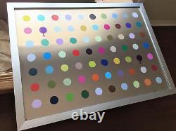 Beejoir Aluminum Imodium 70 Art Print Edition Of 6 Damien Hirst Dot Painting
