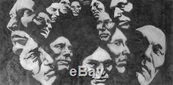 Bev Doolittle FOREST HAS EYES-WSS Print-Camoflauge-Horse-Trapper-Hidden Images