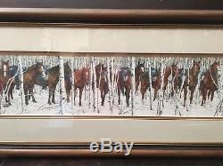 Bev Doolittle Two Indian Horses Native American Western Art Print LE Signed