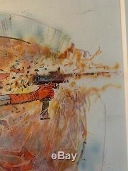 Bill Sienkiewicz Original Artwork Elektra Assassin
