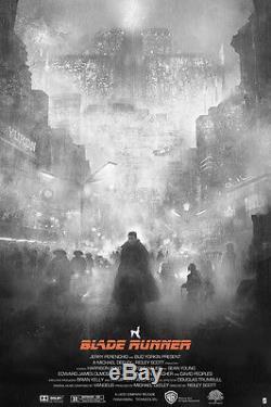 Blade Runner Poster Karl Fitzgerald print te vagy a blade mondo Art Variant 2049
