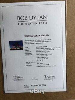 Bob Dylan, Joshua Tree Sunrise 2019 Signed Limited Edition FRAMED