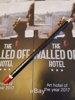 Brand New Unframed Banksy Palestine Poster London WTM PLUS FREE Pen & Pencil