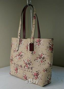 COACH 55181 Beechwood Floral Print Large Highline Tote