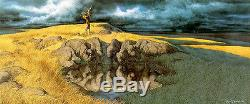 Calling the Buffalo Bev Doolittle Signed Limited Edition Lithograph (Framed)