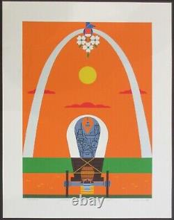 Charles/Charley Harper Where the East Meets the West SIGNED Ltd Ed #15/400