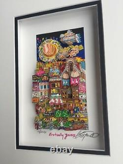 Charles Fazzino Original 3D EROTICALLY YOURS, signiert, Deluxe, unser LETZTES
