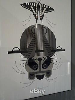 Charley Harper Signed Serigraph Raccrobat