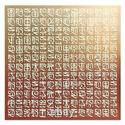 Cryptik Loveletter II Signed Numbered PRINT IN HAND ##/99 Metallic Gold RETNA
