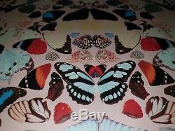 DAMIEN HIRST Butterfly Wallpaper In A Gadda Da Vida Panel. Authenticated V. Rare