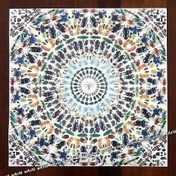 DAMIEN HIRST Victorian Kaleidoscope Gravure Print Wallpaper Panel Art 27 x 27