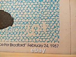 DAVID HOCKNEY A Bounce for Bradford (1987) Limited Edition Plate Signed