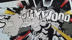 DFACE Hollywood Boom Signed Numbered Dface not banksy obey fairey dolk kaws mbw