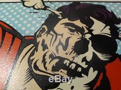 DFace No More Heroes 2010 Screen Print Art Print Poster Ltd. Ed