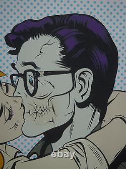 DFace Suck Face art print poster Bend Embrace Suckface Roy Lichtenstein D Face