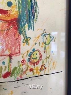 DRAN I Love You Art Print Framed RARE signed not banksy sale ends pejac