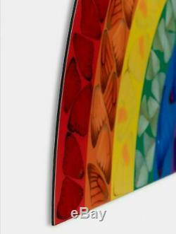 Damien Hirst Butterfly Rainbow Limited Edition Artwork Art Print Small Nhs