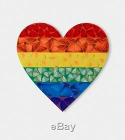 Damien Hirst Butterfly Rainbow n Butterfly Heart SET print SMALL Edition Kusama