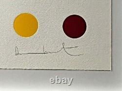 Damien Hirst Dequalinium-Chloride woodcut signed ed. 55
