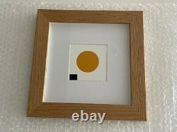 Damien Hirst Orange MSCHF Severed Spot Edition of 88 Extremely Rare With Frame
