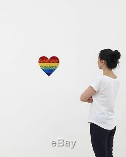 Damien Hirst Small Butterfly Heart H7-4 Numbered and Signed