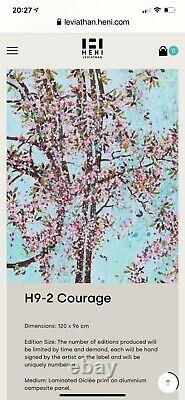 Damien Hirst-The Virtues-H9-2-Courage Signed and Numbered