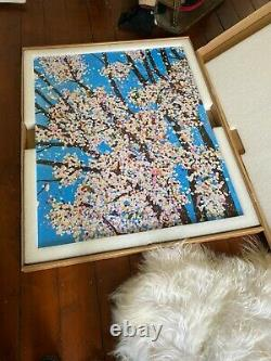 Damien Hirst Virtues Justice H9-1 hand signed cherry blossoms