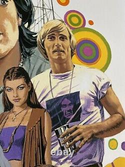 Dazed And Confused Movie Poster Art Print Paul Mann 420 Weed Stoner pot mondo
