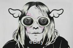 Dface Kan't Complain Print IN HAND (2019 version) Kurt Cobain Hand Finished