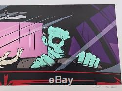 Dface Signed Drive By Shouting Blink 182 California Print Poster Kaws Banksy Art