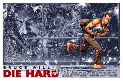 Die Hard by Chris Weston Ltd Edition x/55 Screen Print Poster Art MINT Mondo