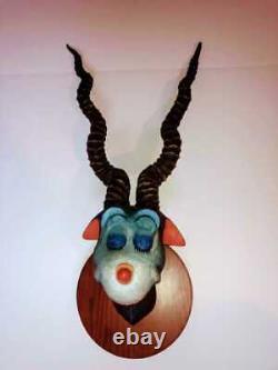 Dr Seuss THEODOR GEISEL Blue Green Abelard Sculpture MAKE OFFER 2