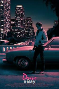 Drive Rory Kurtz Limited Screen Movie Poster Art Print MONDO xxx/375 Gosling