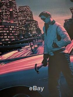 Drive Rory Kurtz Mondo Print Poster Film Art Movie Screenprint Gosling Portrait