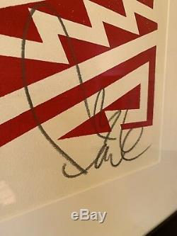 FAILE Star Spangled Shadows (Faile Flag) 2009