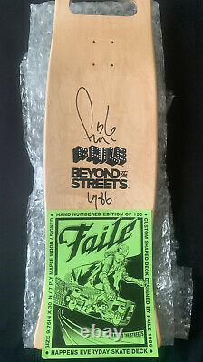 Faile Happens Everyday Skatedeck Signed And Numbered Ed. 150