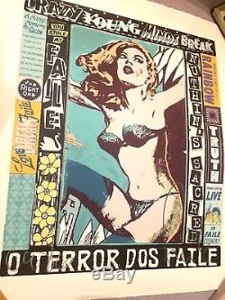 Faile The Right One Happens Everyday Signed Numbered Screen Print