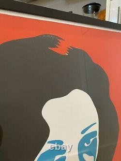 Framed Pure Evil Richard Burtons 1st nightmare Artist Proof, Uncut! Unique