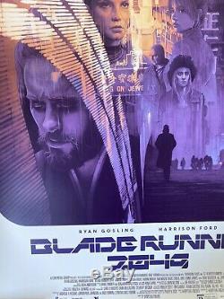 Gabz Blade Runner 2049 variant screen print poster Mondo Grzegorz Domaradzki