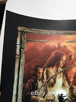 Gabz Lord of the Rings Triptych Variant Movie Print Poster Mondo Star Wars 4K