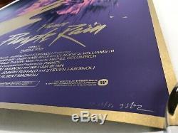 Gabz Purple Rain Signed AP Print Prince Grzegorz Domaradzki Mondo Tyler Stout
