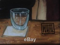 Girly Drinks Limited Edition Framed Canvas famous artist Todd White ART POP