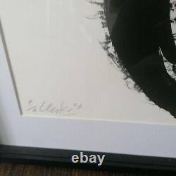 Günther Uecker Lithografie Spirale handsigniert e. A. Exemplar aus 2003