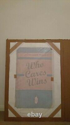 HARLAND MILLER Who Cares Wins 2020 100cm x 70cm signed edition of 250