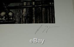 HR GIGER Alien Prometheus Necronomicon Baphomet 1977 signed very rare