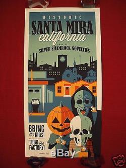 Halloween 3 III Tom Whalen Santa Mira Original Movie Poster Art Print Mask Mondo