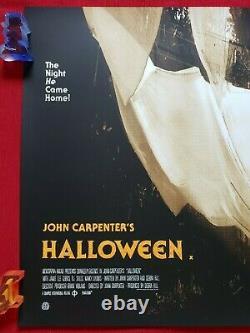 Halloween Mondo Original Movie Poster Jock Art Print Quad Variant Michael Myers